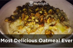 The Most Filling & Delicious Oatmeal Recipe Ever