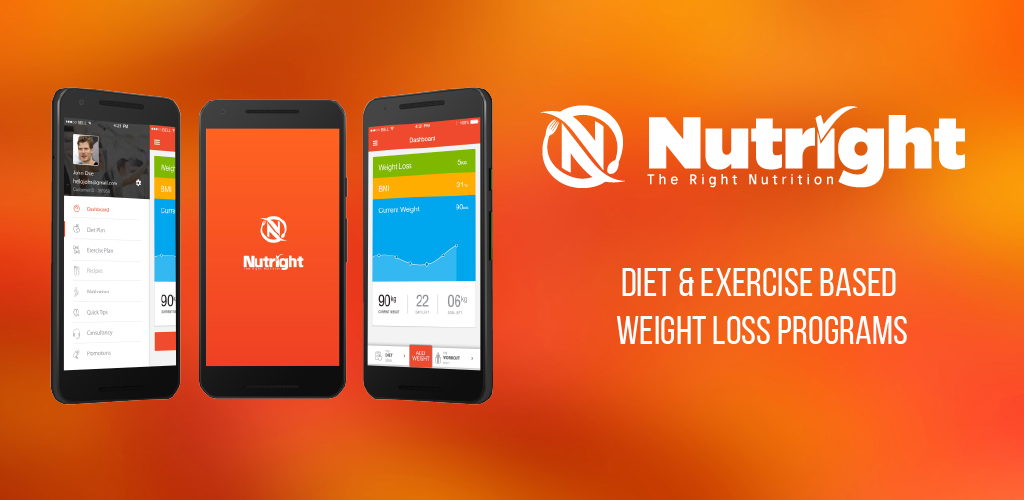 Android Mobile App Nutright