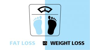 FAT LOSS vs WEIGHT LOSS difference
