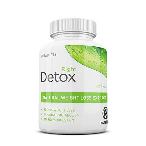 Buy Nutright Right Detox Weight Loss Tablets In Pakistan