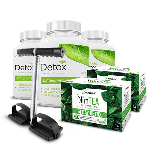 BUY 3 RIGHT DETOX & GET 2 SlimTea & TUMMY TRIMMER FREE